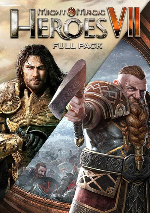 Might & Magic Heroes VII - Full Pack - Cover / Packshot