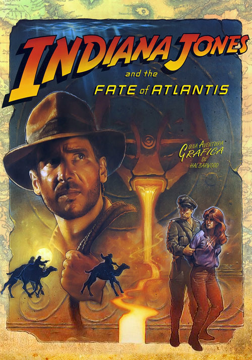 Indiana Jones and the Fate of Atlantis - Cover / Packshot