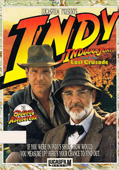 Indiana Jones and the Last Crusade - Cover / Packshot
