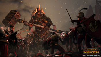 Screenshot3 - Total War: WARHAMMER - Chaos Warriors Race Pack