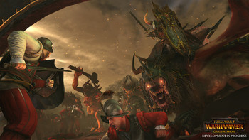 Screenshot2 - Total War: WARHAMMER - Chaos Warriors Race Pack
