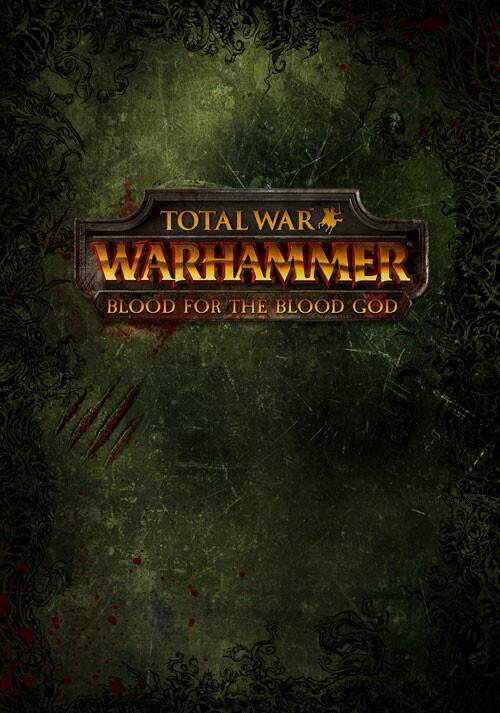 Total War: WARHAMMER - Blood for The Blood God - Cover / Packshot