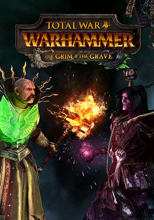 Total War: WARHAMMER - The Grim and the Grave - Cover / Packshot