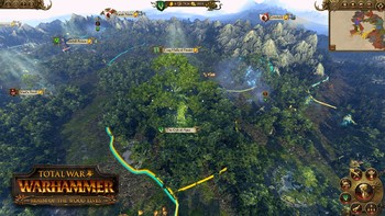 Screenshot5 - Total War: WARHAMMER - Realm of the Wood Elves