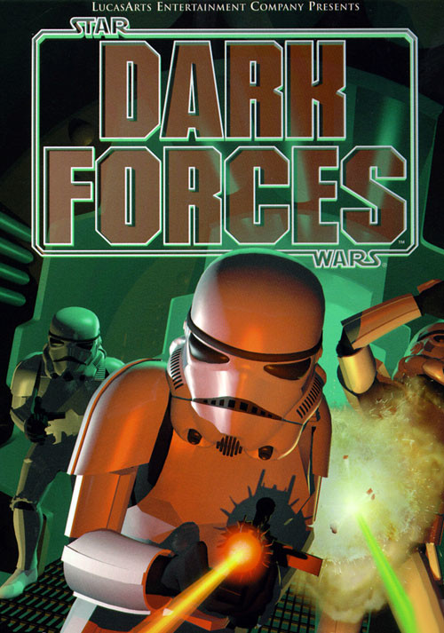 Star Wars: Dark Forces - Cover