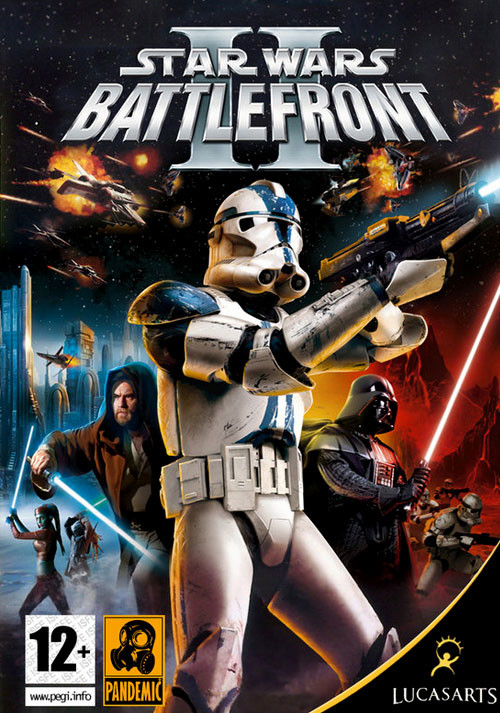 Star Wars: Battlefront 2 (Classic, 2005) - Cover / Packshot