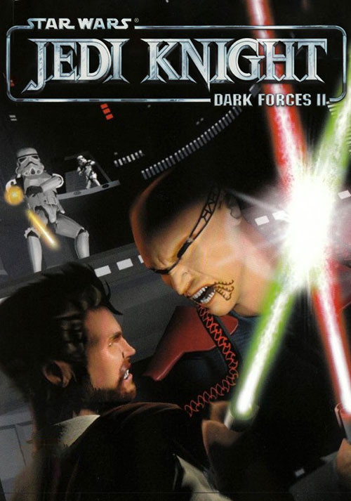 Star Wars Jedi Knight: Dark Forces II - Cover