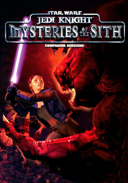 Star Wars Jedi Knight: Mysteries of the Sith - Cover