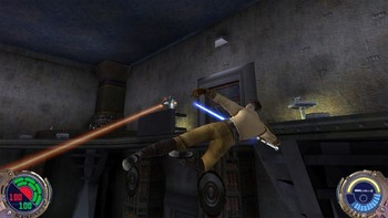 Screenshot1 - Star Wars Jedi Knight II: Jedi Outcast