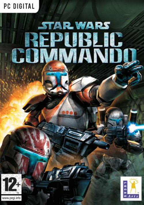 Star Wars Republic Commando - Cover