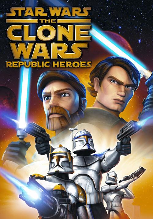 Star Wars The Clone Wars : Les Héros de la République - Cover / Packshot