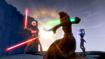 Screenshot1 - Star Wars The Clone Wars : Les Héros de la République