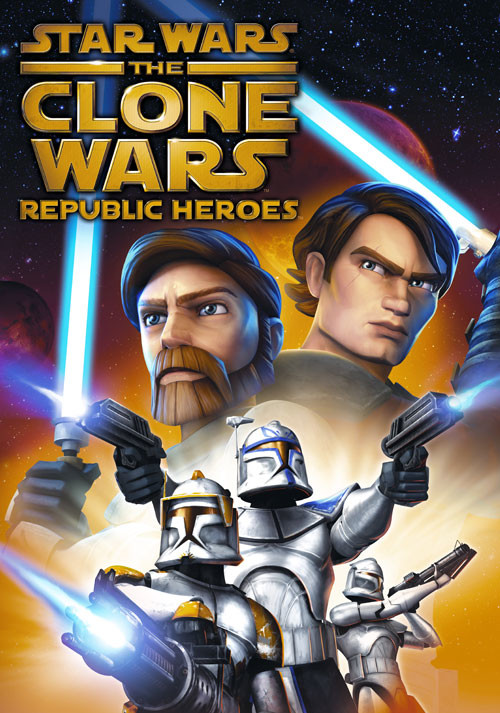 Star Wars The Clone Wars: Republic Heroes - Cover