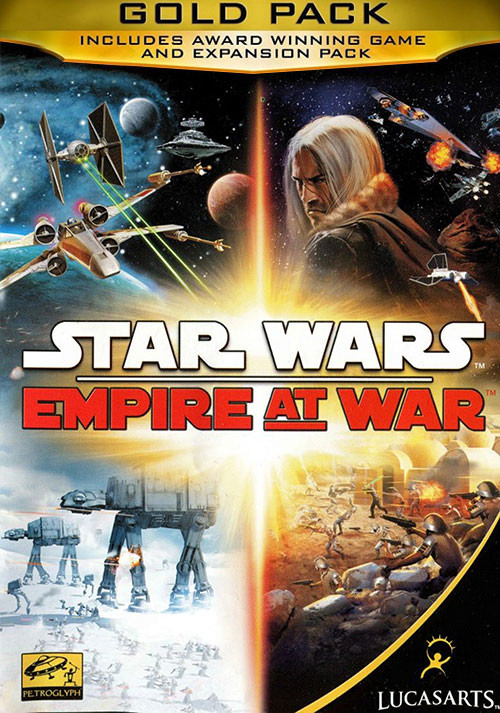 Star Wars Empire at War Gold Pack - Cover / Packshot
