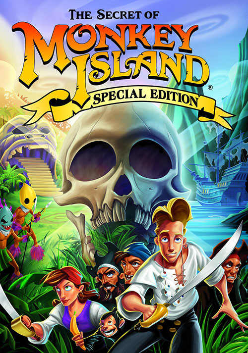 The Secret of Monkey Island: Special Edition - Cover
