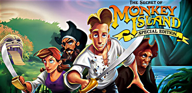 The Secret of Monkey Island: Special Edition - Cover / Packshot