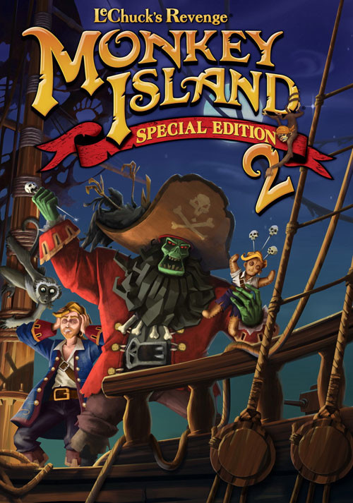 Monkey Island 2 Special Edition: LeChuck's Revenge - Cover / Packshot