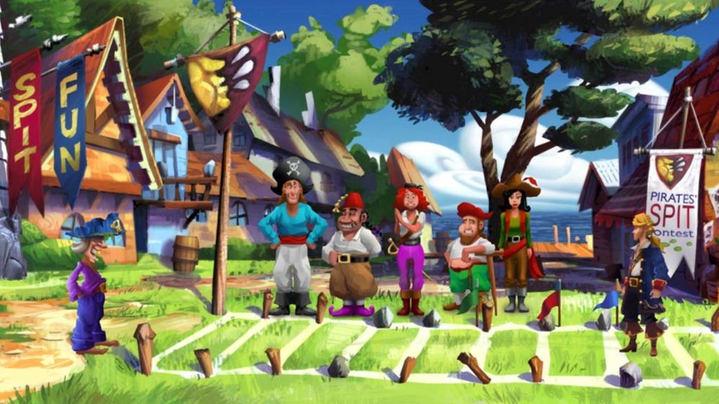 Monkey Island  Spit Contest