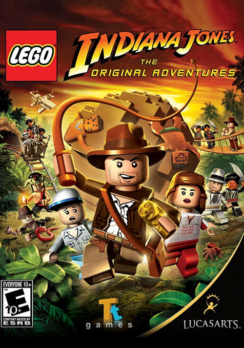 LEGO Indiana Jones: The Original Adventures - Cover / Packshot