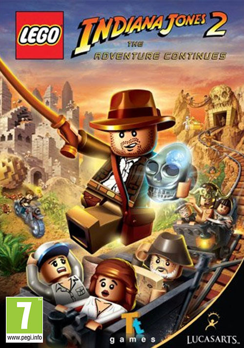 LEGO Indiana Jones 2: The Adventure Continues - Cover / Packshot