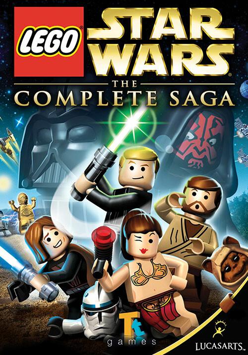 LEGO Star Wars: The Complete Saga - Cover / Packshot