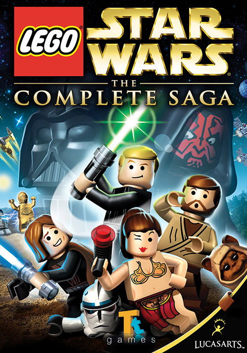 LEGO Star Wars: The Complete Saga - Cover / Packshot