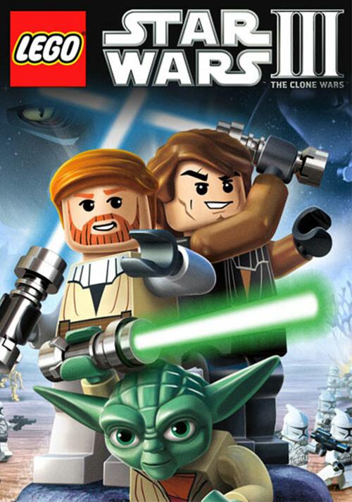 LEGO Star Wars III: The Clone Wars - Cover / Packshot