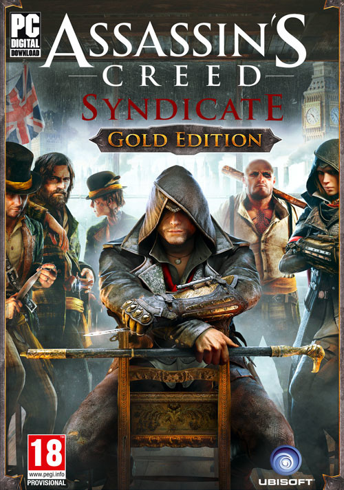 Assassin's Creed Syndicate - Gold Edition - Cover