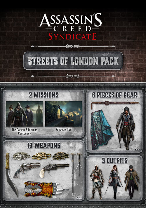 Assassin's Creed Syndicate - Streets of London Pack - Packshot