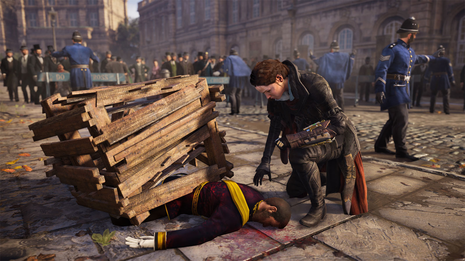 assassins creed syndicate the dreadful crimes uplay cd