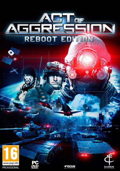 Act of Aggression - Reboot Edition - Cover