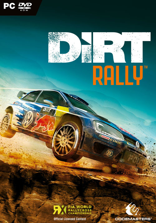 DiRT Rally - Cover / Packshot
