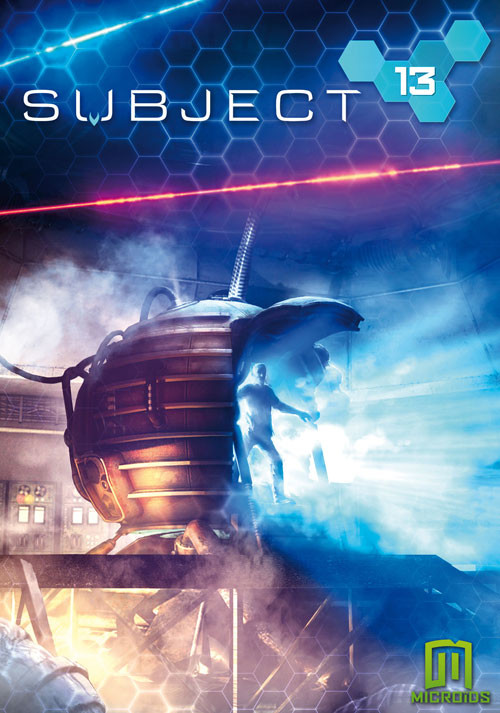 Subject 13 - Cover / Packshot