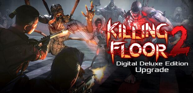 Killing Floor 2 Digital Deluxe Edition Upgrade - Cover / Packshot
