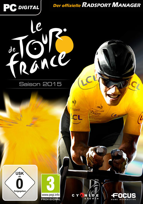Pro Cycling Manager - Tour de France 2015 - Cover / Packshot