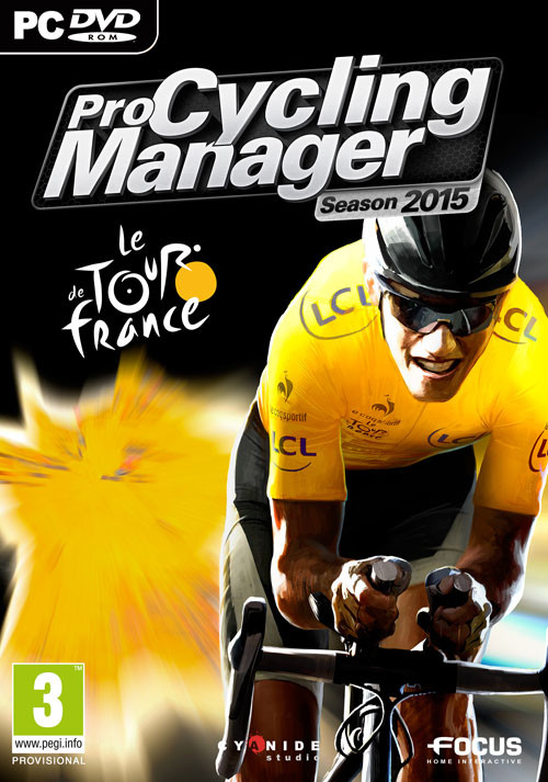 Pro Cycling Manager - Tour de France 2015 - Cover