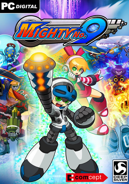 Mighty No. 9 - Cover