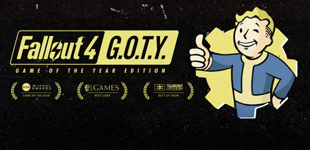 Fallout 4: Game of the Year Edition - Cover / Packshot