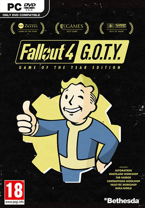 Fallout 4: Game of the Year Edition - Cover