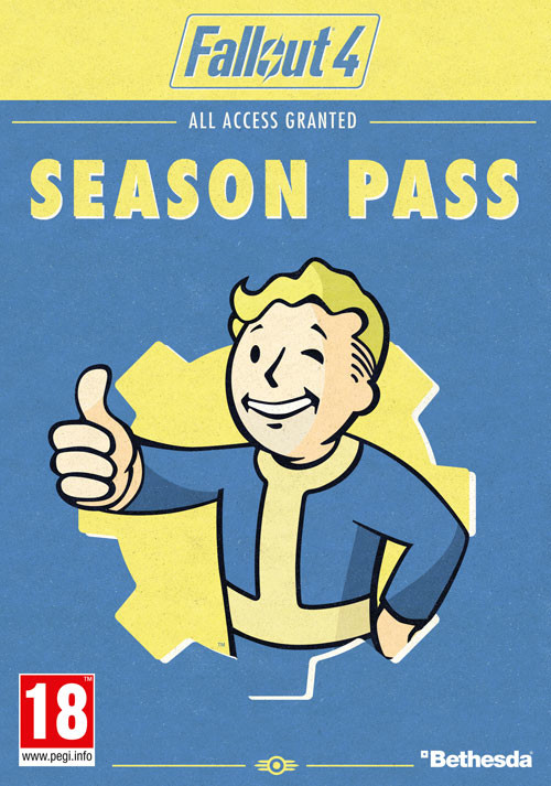 Fallout 4 - Season Pass - Cover / Packshot