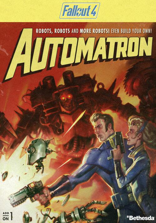 Fallout 4 - Automatron DLC - Cover