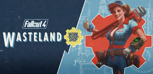 Fallout 4 - Wasteland Workshop DLC - Cover / Packshot