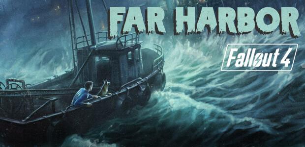 Fallout 4 - Far Harbor DLC - Cover / Packshot