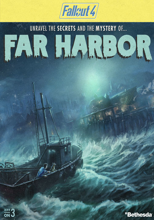 Fallout 4 - Far Harbor DLC - Cover / Packshot