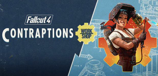 Fallout 4 - Contraptions Workshop DLC - Cover / Packshot