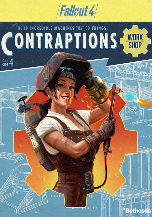 Fallout 4 - Contraptions Workshop DLC - Cover
