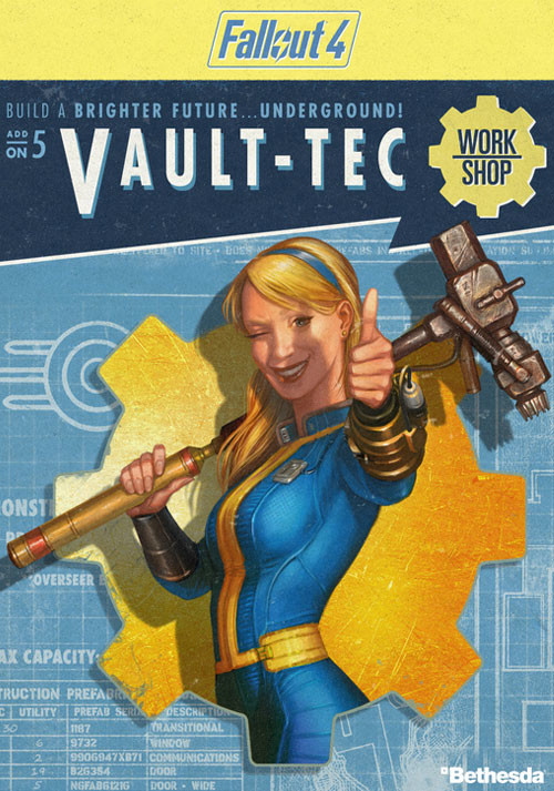 Fallout 4 - Vault-Tec Workshop DLC - Cover / Packshot