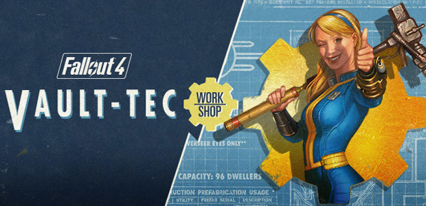 Fallout 4 - Vault-Tec Workshop DLC - Cover / Packshot