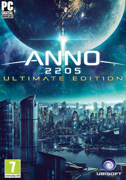 Anno 2205 Ultimate Edition - Cover