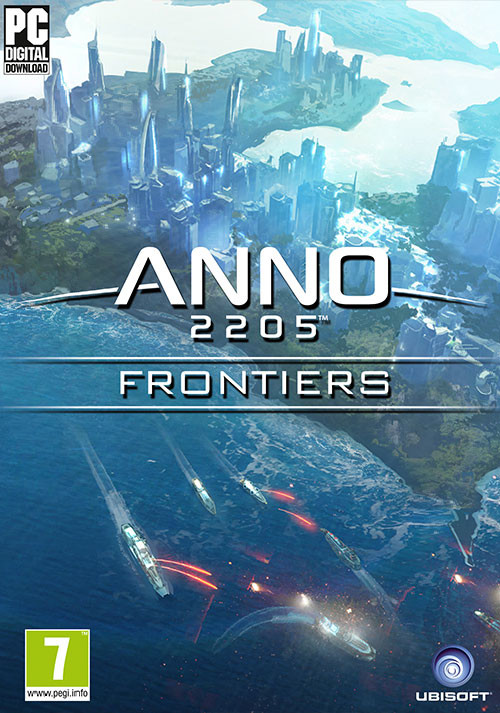 Anno 2205: Frontiers DLC - Cover